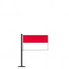 Tischflagge Monaco