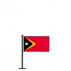 Tischflagge Osttimor / Timor-Leste