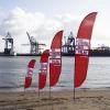 Beachflag 'Palau' Druck(frisch)
