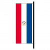 Hisshochflagge Paraguay Rückseite