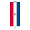 Banner-Fahne Paraguay Vorderseite
