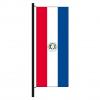 Hisshochflagge Paraguay Vorderseite