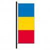 Hisshochflagge Rumänien