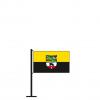 Tischflagge Sachsen-Anhalt