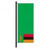 Hisshochflagge Sambia