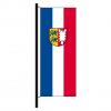 Hisshochflagge Schleswig-Holstein mit Bürgerwappen