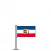 Tischflagge mit Bürgerwappen