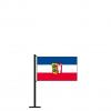 Tischflagge Schleswig-Holstein Dienstflagge