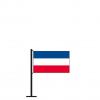 Tischflagge Schleswig-Holstein