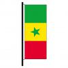 Hisshochflagge Senegal