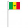 Hissflagge Senegal