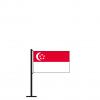 Tischflagge SingapurLeone
