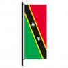 Hisshochflagge St. Kitts und Nevis