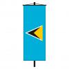 Banner-Fahne St. Lucia