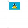 Hissflagge St. Lucia