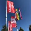 Hisshochflagge Werbeflagge